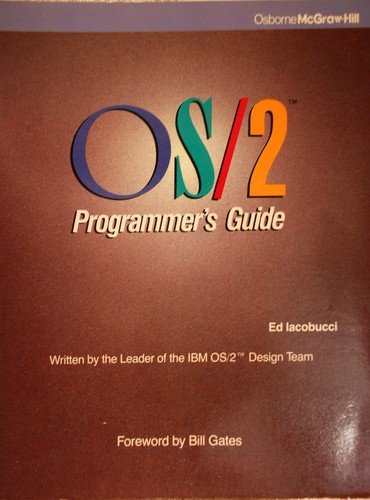 Download OS/2 programmer's guide