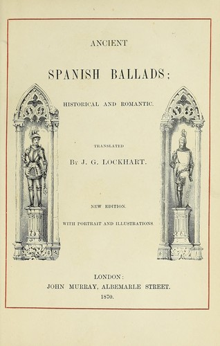 Download Ancient Spanish Ballads