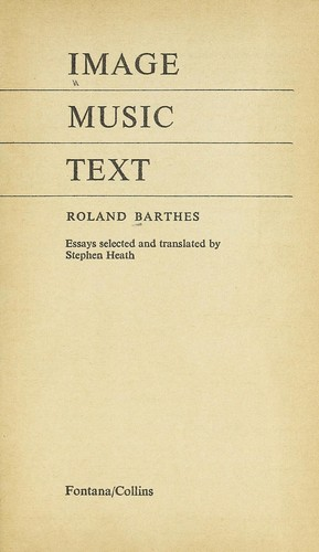 Image, music, text