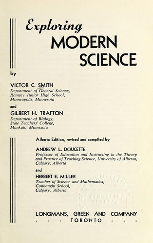 Science for modern living