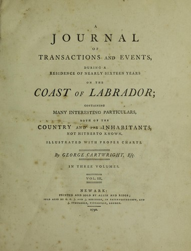 Download A journal of transactions and events, during a residence of nearly sixteen years on the coast of Labrador