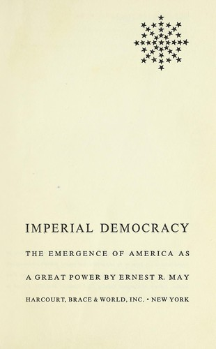 Download Imperial democracy