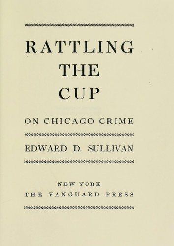 Rattling the cup on Chicago crime