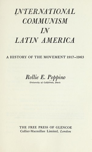 Download International communism in Latin America