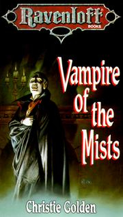 Cover of: Vampire of the Mists (Ravenloft Books) by Christie Golden