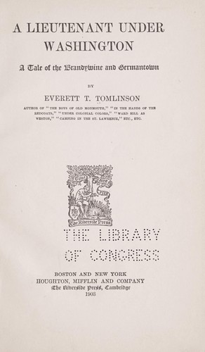 Download A lieutenant under Washington