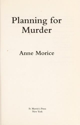Download Planning for murder