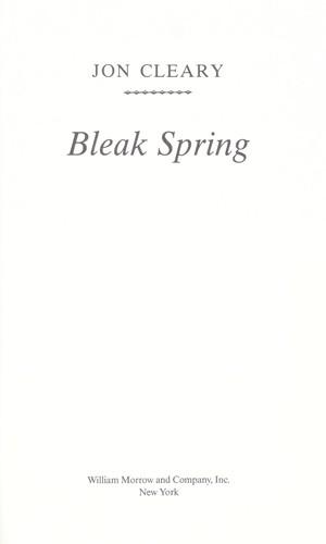 Download Bleak spring