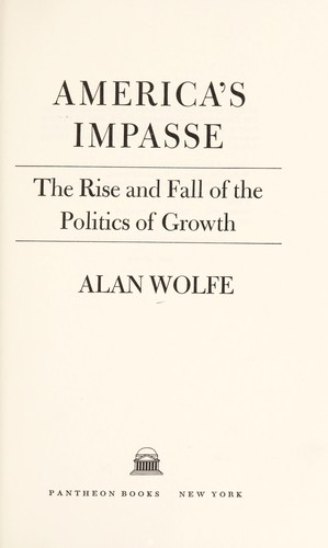 Download America's impasse