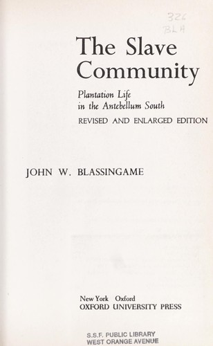 Download The slave community