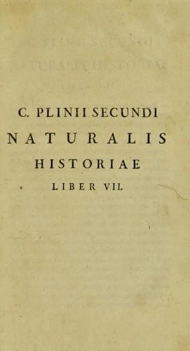 Download Historiae naturalis libri xxxvii