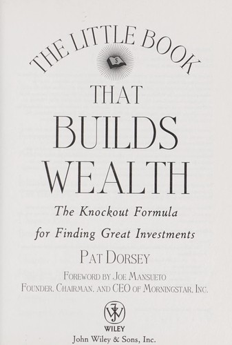 Download The little book that builds wealth