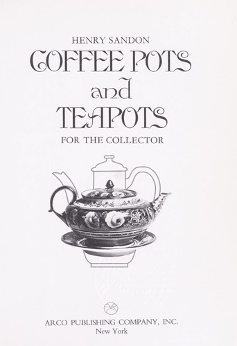 Download Coffee pots and teapots for the collector