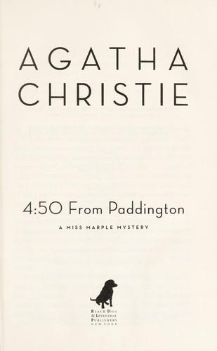 The 4:50 from Paddington