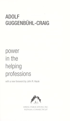 Power in the helping professions