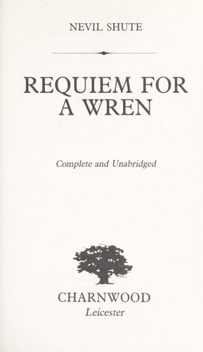 Download Requiem for a Wren (Large Print)