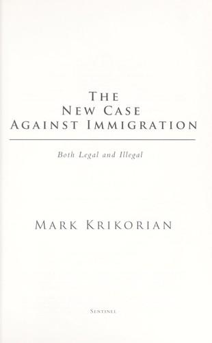 Download The new case against immigration
