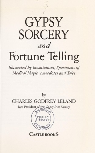 Gypsy Sorcery and Fortune Telling.