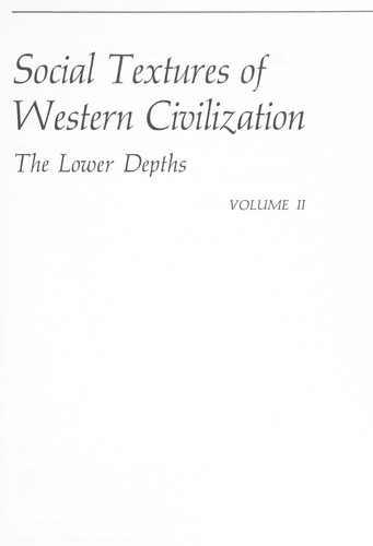 Download Social textures of Western civilization