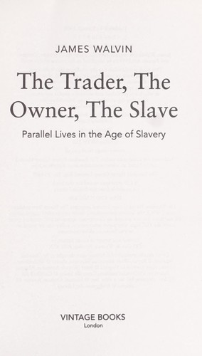 Download The trader, the owner, the slave
