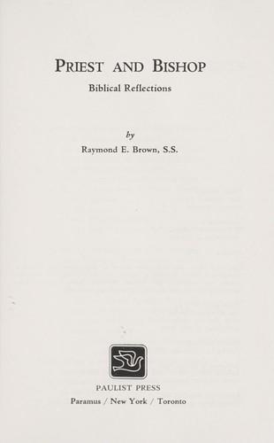 Download Priest and bishop