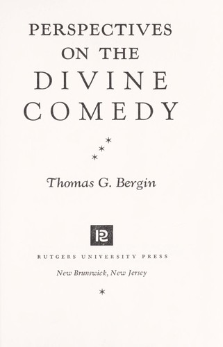 Perspectives on the Divine comedy
