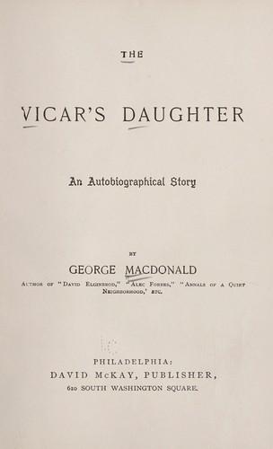 The vicar's daughter.