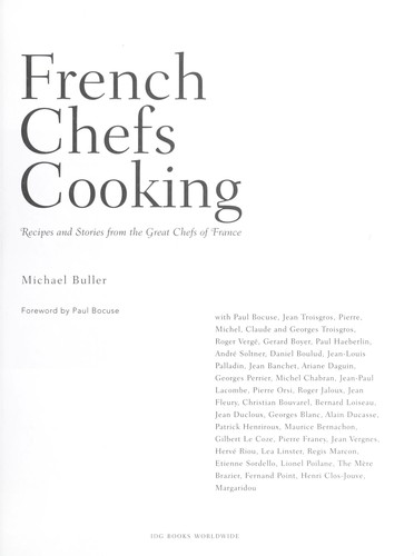 French Chef's Cooking