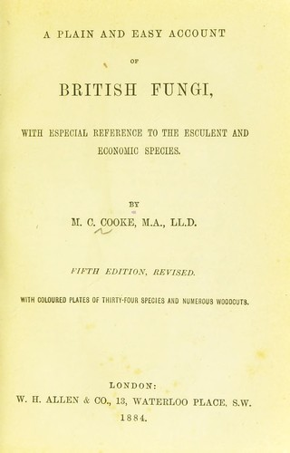 Download A plain and easy account of British Fungi