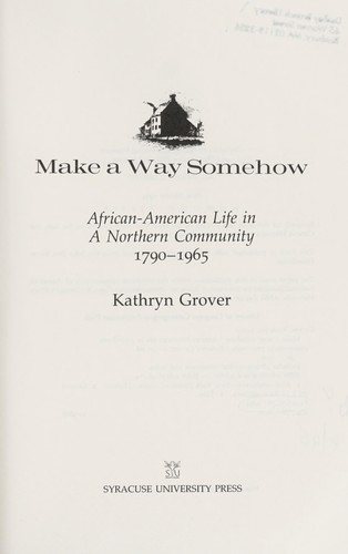 Download Make a way somehow