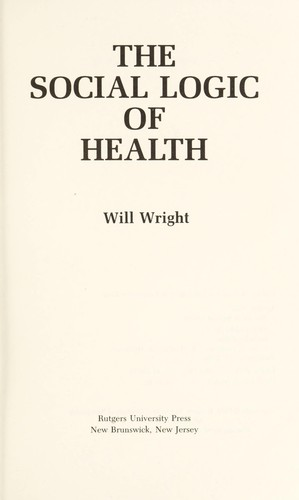 Download The social logic of health