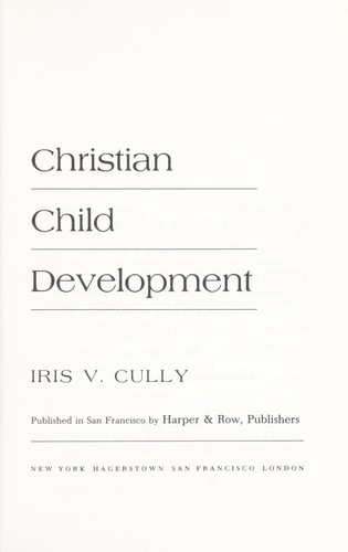 Download Christian child development