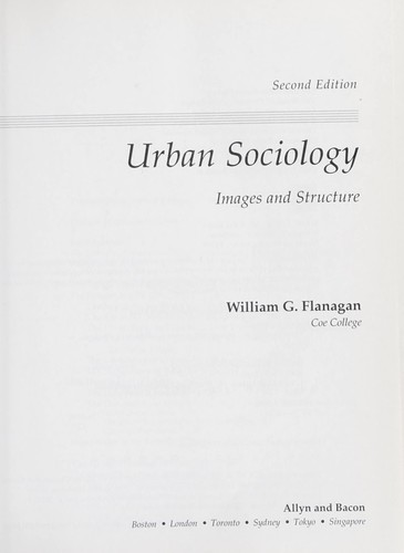 Download Urban sociology