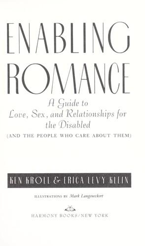 Download Enabling romance