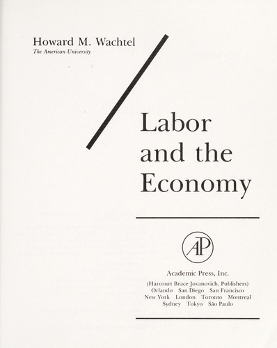 Download Labor and the economy