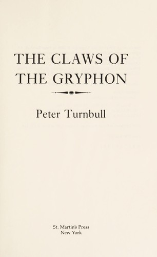 The claws of the gryphon