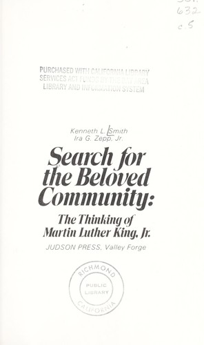 Search for the beloved community
