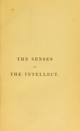 Download The senses and the intellect