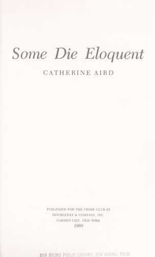 Download Some die eloquent