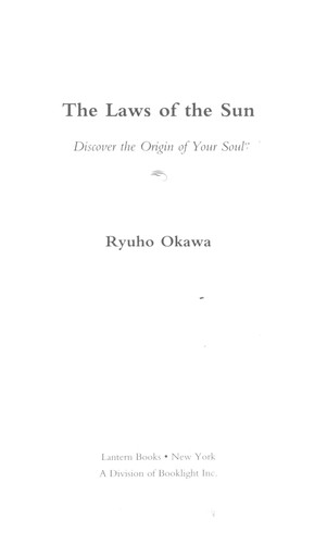 Download The laws of the sun