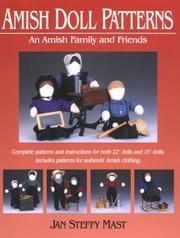 Amish Doll Patterns PDF