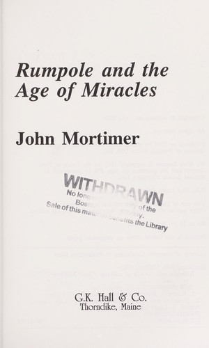 Download Rumpole and the age of miracles