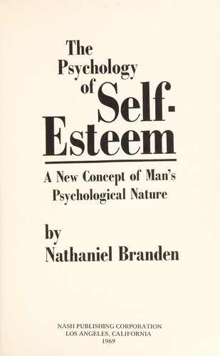 Download The psychology of self-esteem