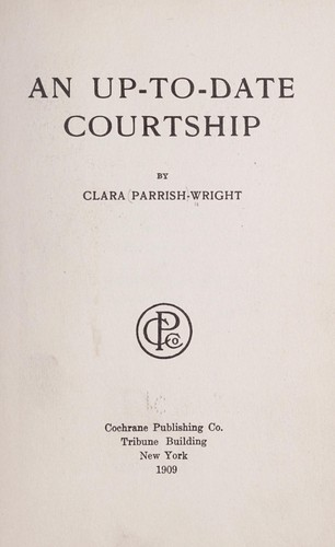 An up-to-date courtship