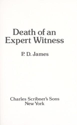 Death ofan expert witness