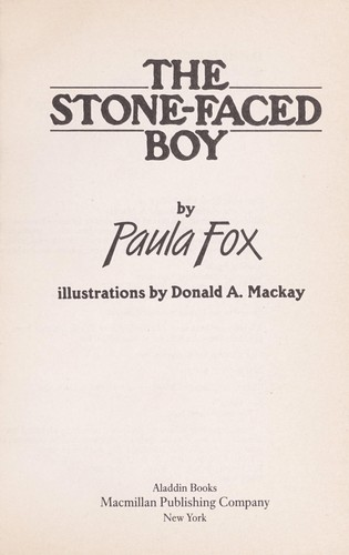 The stone-faced boy