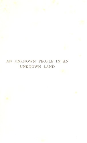 Download An unknown people in an unknown land