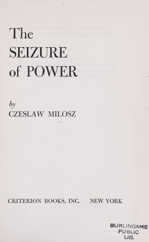 The seizure of power.