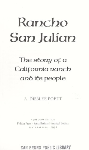 Download Rancho San Julian