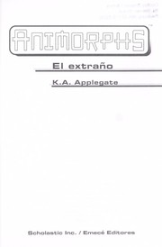 Cover of: Extrao, El